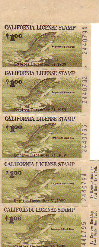 Stamps, United States, Fish & Game
