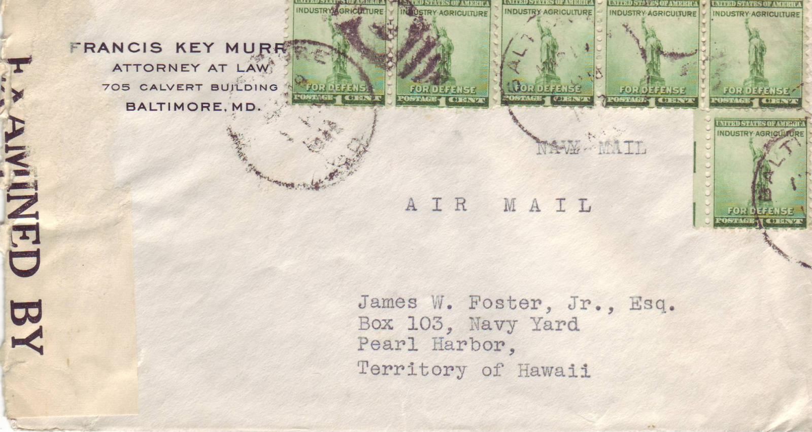 Covers, United States Postal History