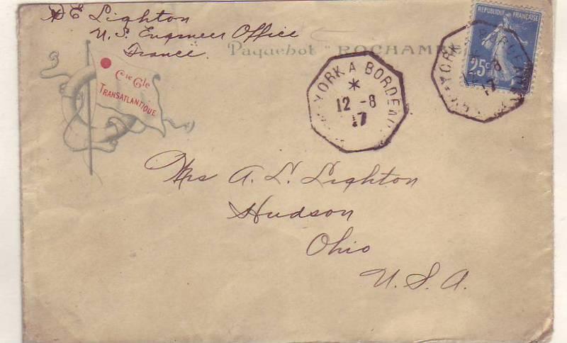 forerunner ships. WW1:AEF Forerunner, 1917